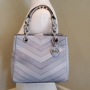 NWOT Michael Kors chevron bag
